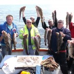 Summer boat fishing in Whitby