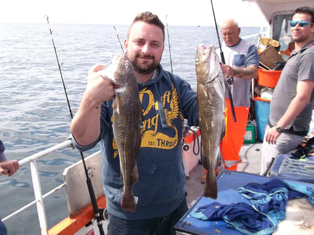 Shad fishing Whitby