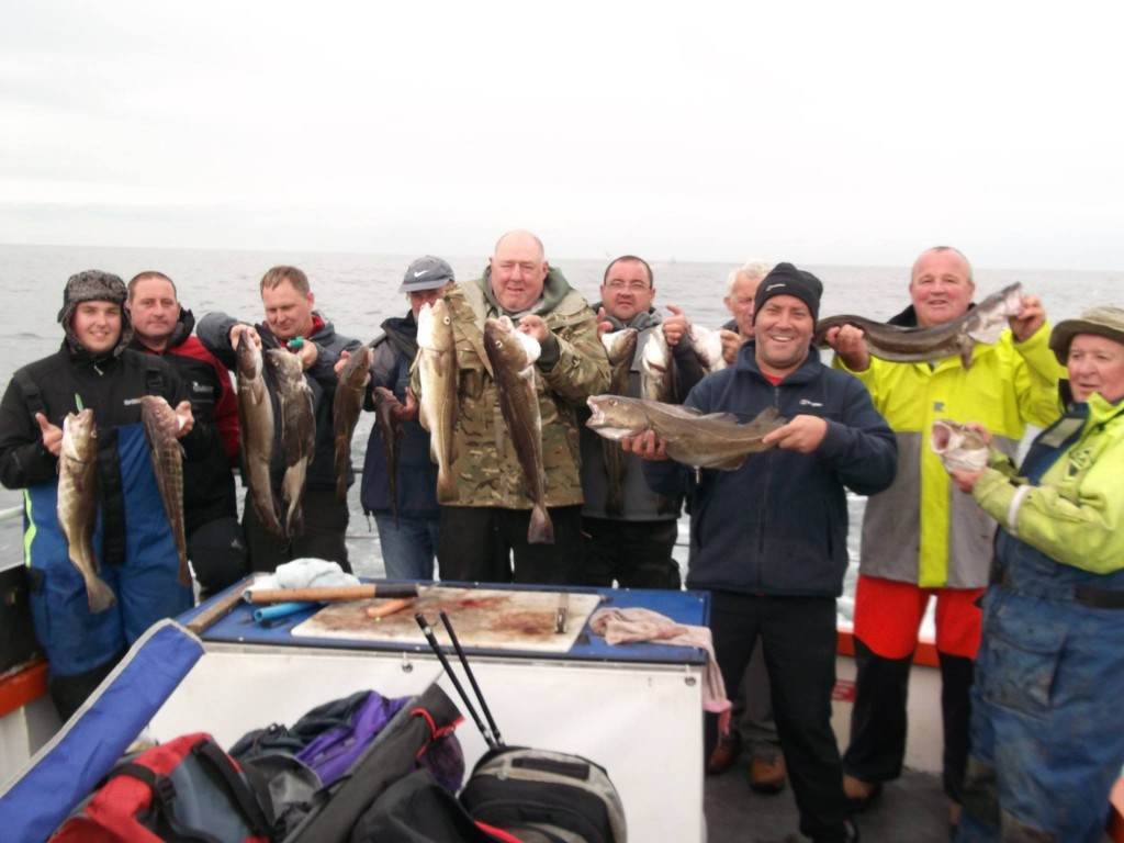 Boat fishing at Whitby